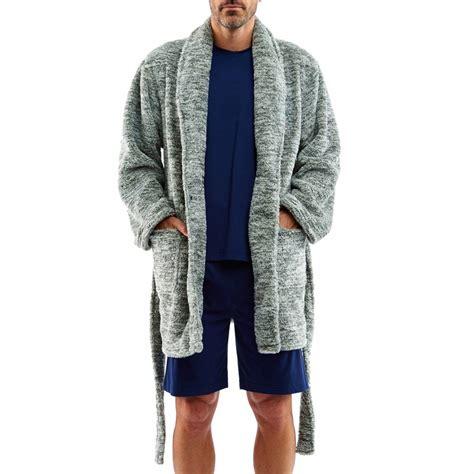 arthur robe de chambre veste d 39 intérieur arthur en polaire grise rue des hommes
