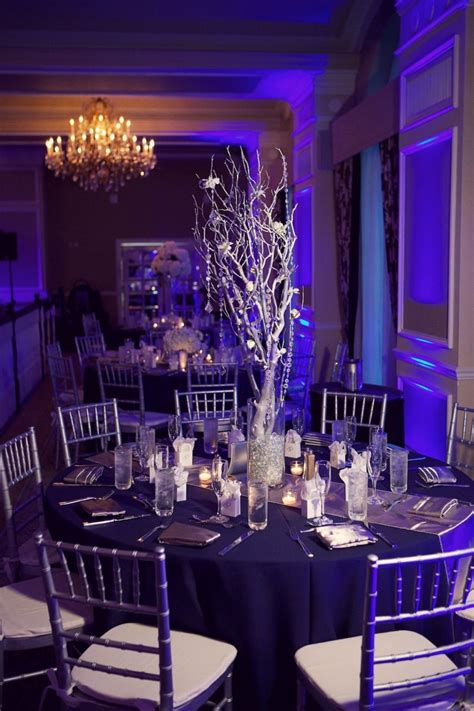 Navy Blue Silver And White St Pete Beach Wedding Don