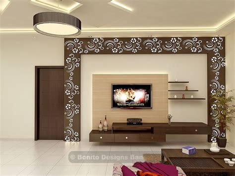 Living Room Ideas With Beautiful Wall Units by Sujithliv3 Lcd Panel Living Room Tv Unit Tv Unit