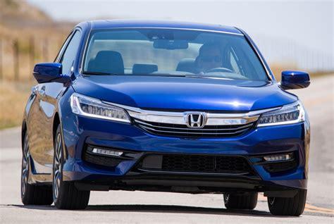 2017 Honda Accord Hybrid Gets More Horsepower, Better