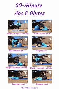 30 Minute Abs and Glutes Workout • The Fit Cookie