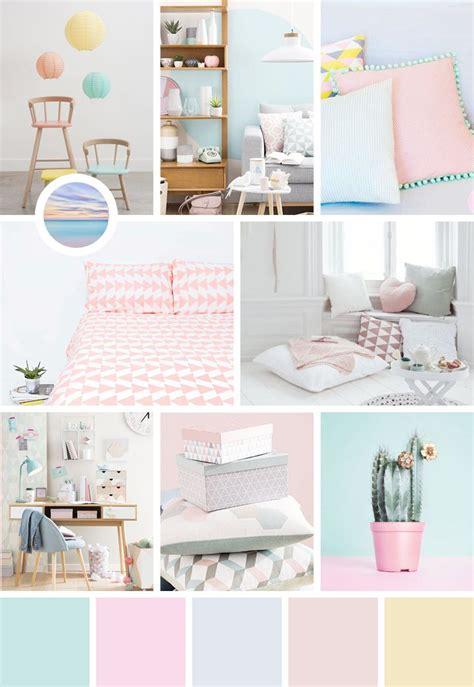 d駻ouleur cuisine deco chambre pastel idées de décoration et de mobilier pour la conception de la maison