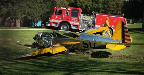 Ntsb Reports Cause Of Harrison Ford Plane Crash
