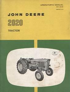 John Deere Tractor 2020 Operators Manual