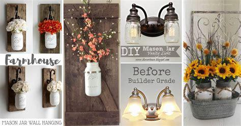 farmhouse mason jar decor inspirations