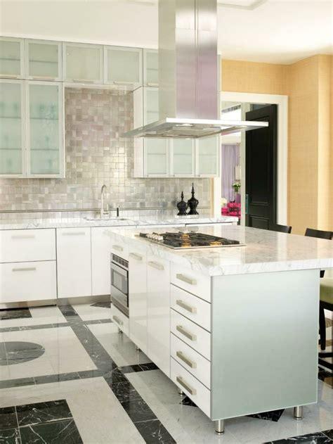 comptoir ilot cuisine comptoir de cuisine blanc 52 idées élégantes avec du