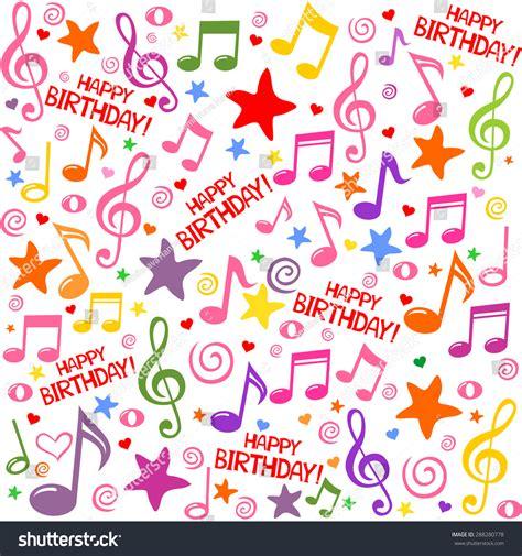 happy birthday seamless background pattern vector