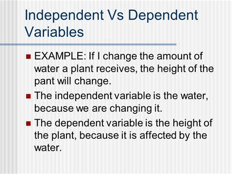 Independent And Dependent Variables  Ppt Video Online Download