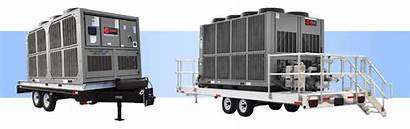 Chiller Air Cooled Rental Chillers Trailer Mounted
