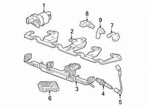 Chevrolet Impala Engine Camshaft Position Sensor  Seal