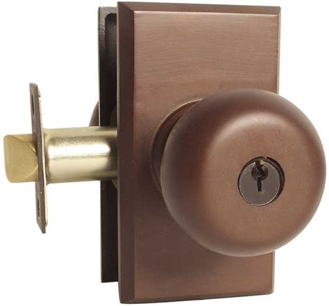 bronze door handles emtek winchester sandcast bronze keyed door knob lock