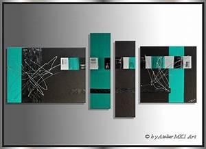 Bilder Abstrakt Modern : mk1 art bild leinwand abstrakt gem lde kunst malerei modern bilder acryl t rkis ebay ~ Sanjose-hotels-ca.com Haus und Dekorationen