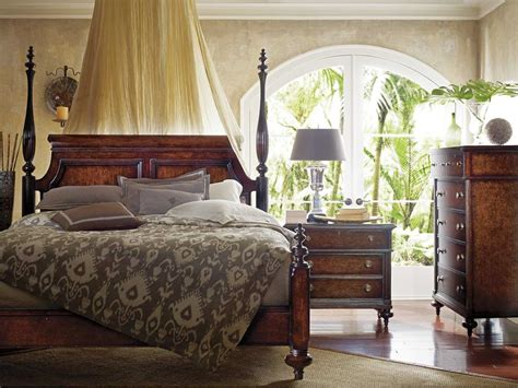 colonial style bedroom furniture stanley furniture colonial bedroom set sl0206342set