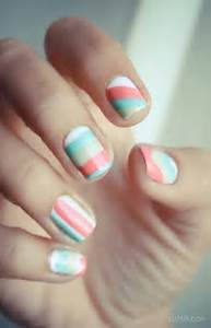 Cool color block nail art a funky modern look which stands out best