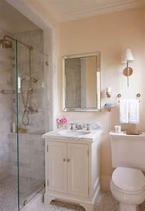 Tapeten Badezimmer Beispiele : badideen kleines bad interessante interieurentscheidungen ~ Markanthonyermac.com Haus und Dekorationen
