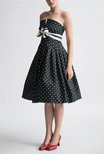 Vintage Black And White Cocktail Dress | www.pixshark.com ...