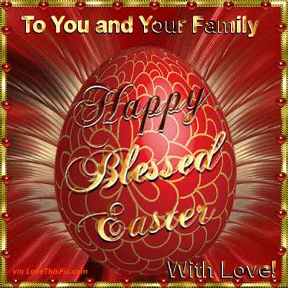 Easter Happy Blessed Sunday Gifs Quotes Wishes
