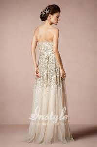 gold chagne bridesmaid dresses strapless sparkle tulle wedding dress with gold and silver sequins instyledress co uk