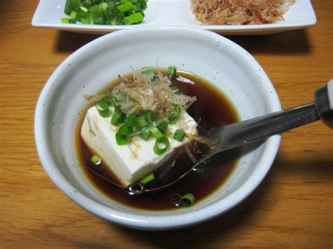 cuisine tofu boiled tofu yudofu food in