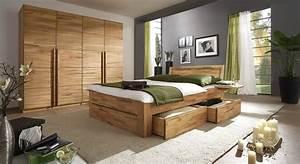 Schlafzimmer Komplett Holz : komplett schlafzimmer aus massivholz andalucia ~ Indierocktalk.com Haus und Dekorationen