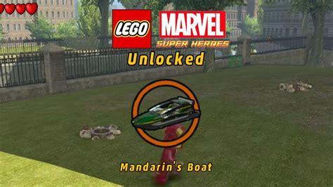Lego Marvel Boat Unlock lego marvel unlock mandarin s boat 2nd groot mission