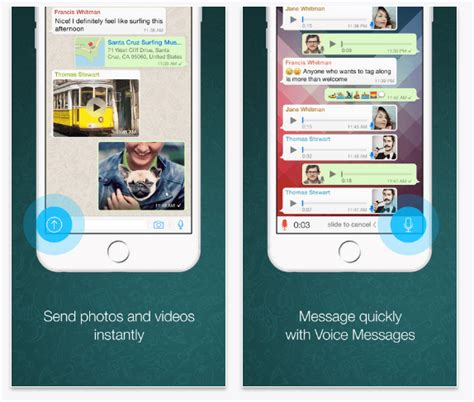 best messaging app for iphone 10 best texting apps for iphone 2017