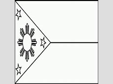 Filipino Flag Black And White ClipArt Best