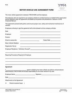 10 best images of between two parties agreement form With employee vehicle use agreement template