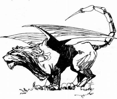 Manticore Rpg Witcher Gra Pnp Wiki Gamepedia