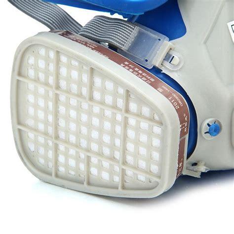 foto de Silicone Full Face Respirator Gas Mask & Goggles