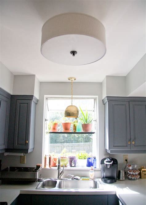 kitchen light shades new to our kitchen an rubbed bronze and drum shade 4582