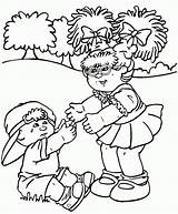 Cabbage Patch Coloring Pages Crying Sheets Colouring Doll Printable Bing Hold Drawing Bear Child Want Baby Dolls Popular Getcolorings Coloringhome sketch template