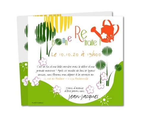 20 best carte invitation d 233 part 224 la retraite on happy retirement new