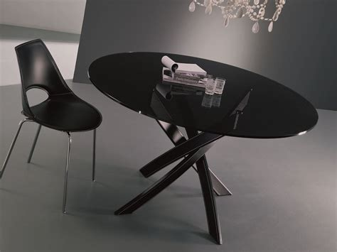 bontempi casa barone oval table by bontempi casa