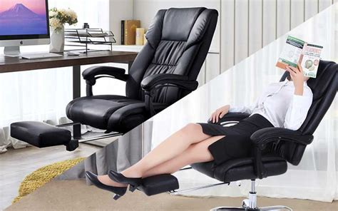 Best Reclining Office Chairs With Footrests (updated For