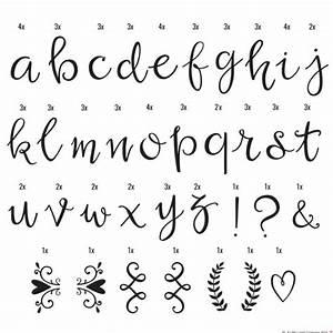 85 letras manuscritas para lightbox Una Boda Original