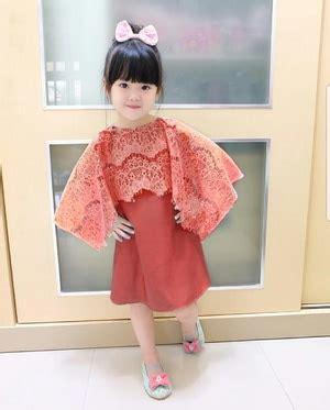 baju mini dress pendek pesta cape brukat anak perempuan ryn fashion