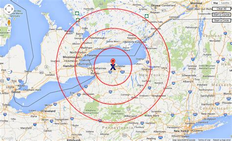 Google Maps as the Crow Flies | Cartagram