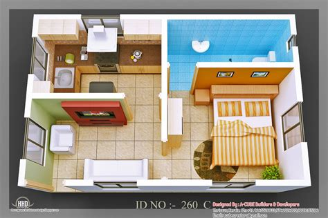 Home Design 3d 3d Isometric Views Of Small House Plans Kerala Home Design And Floor Plans