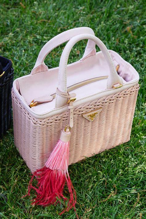 prada straw bags  purseblog