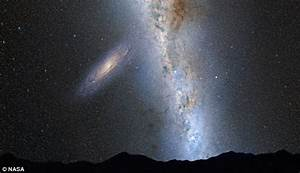 Milky Way Andromeda collision: NASA predicts Milky Way ...
