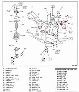 Front Suspension Diagram For 2000 Outback