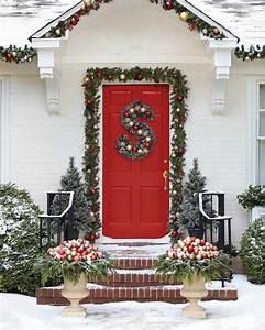17, Christmas, Porch, U0026, Front, Door, Decorating, Ideas