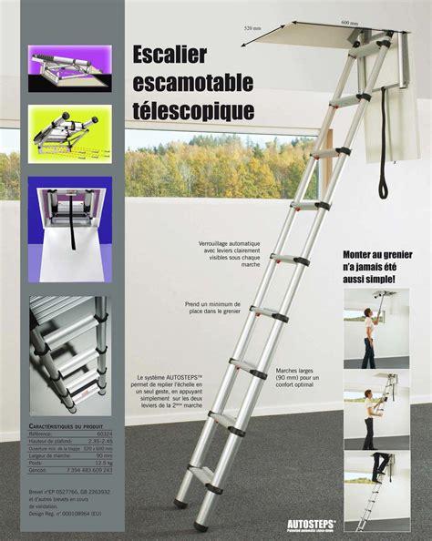 Trappe Escalier Escamotable Dimensions by Prix 233 Chelle T 233 Lescopique De Grenier 224 Marches Plates Et