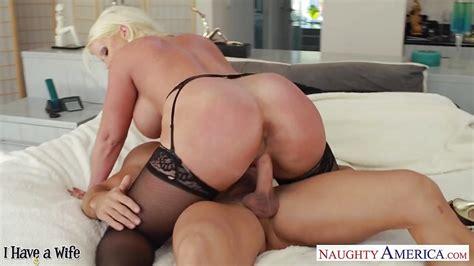 chesty blonde wife alura jenson gives titjob porntube