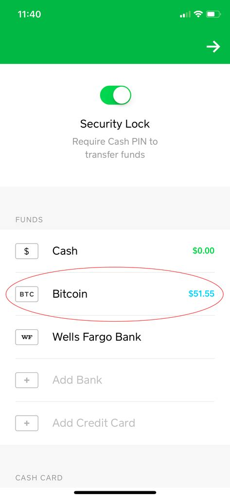 To view your bitcoin limits and progress Cryptocurrency Instructions (Cash App)