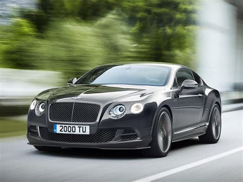 2014 Bentley Continental Gt Speed Introduced With Even