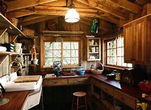Garden shed interior the best way to landscape around a for Shed interior design ideas