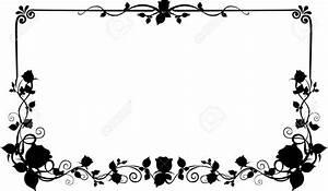 Cadre Noir Et Blanc : cadre fleur noir et blanc vap vap ~ Teatrodelosmanantiales.com Idées de Décoration