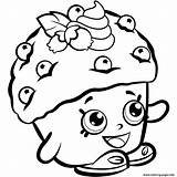 Shopkins Coloring Pages Printable Season Mini Muffin Sheets Print sketch template